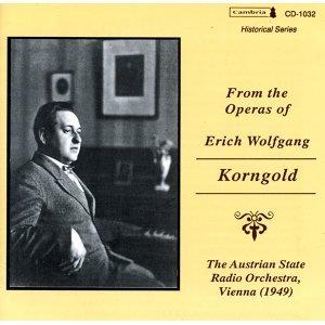 Erich Wolfgang Korngold 歌手頭像
