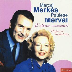 Marcel Merkes, Paulette Merval 歌手頭像