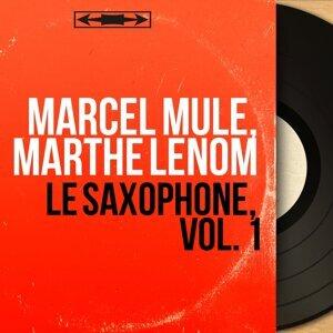 Marcel Mule, Marthe Lenom 歌手頭像