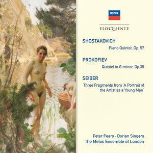 Dorian Singers,Sir Peter Pears,Melos Ensemble 歌手頭像
