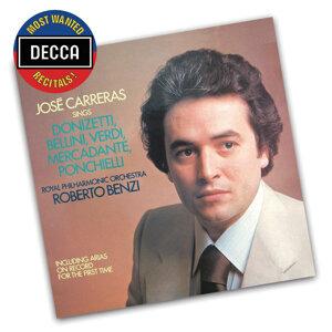 José Carreras,Royal Philharmonic Orchestra,Roberto Benzi 歌手頭像