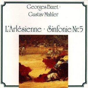 Bizet, Mahler: Larlésienne, Sinfonie Nr. 5 アーティスト写真