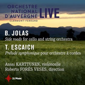 Anssi Kartunen, Roberto Forés Veses, Orchestre national d'Auvergne Clermont-Ferrand 歌手頭像