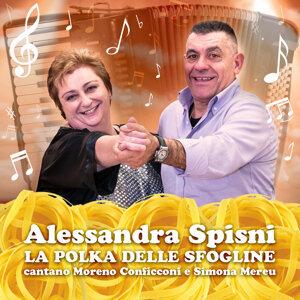 Alessandra Spisni, Moreno Conficconi, Simona Mereu 歌手頭像