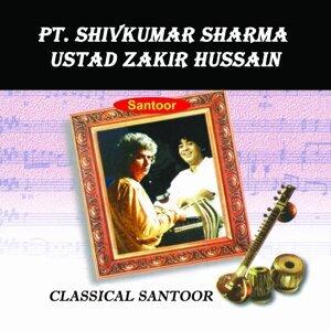 Pt. Shivkumar Sharma, Ustad Zakir Hussain