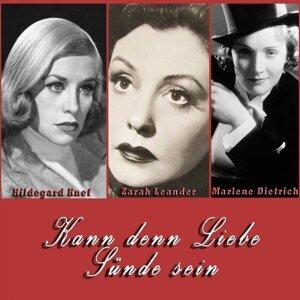 Zarah Leander, Hildegard Knef, Marlene Dietrich 歌手頭像