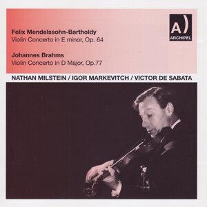 Nathan Milstein, Igor Markevitch & Victor De Sabata 歌手頭像