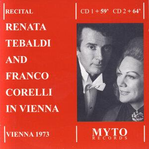 Renata Tebaldi, Franco Corelli 歌手頭像