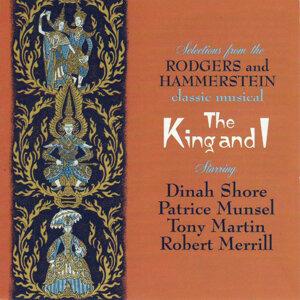 Dinah Shore, Patrice Munsell, Tony Martin & Robert Merrill 歌手頭像