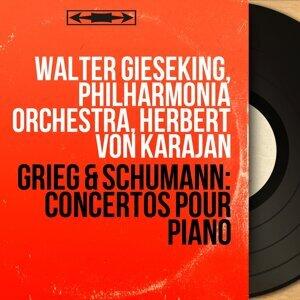 Walter Gieseking, Philharmonia Orchestra, Herbert von Karajan