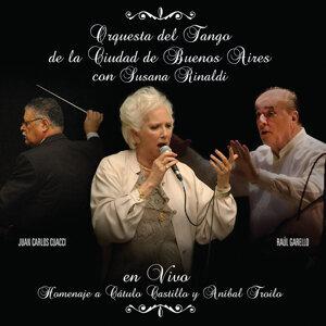 Orquesta del Tango de la Ciudad de Buenos Aires con Susana Rinaldi 歌手頭像