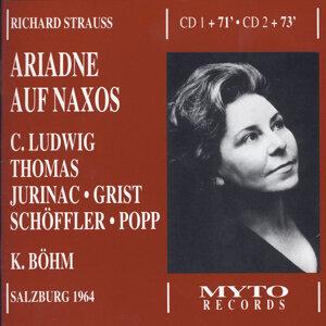 Christa Ludwig, Jess Thomas, Sena Jurinac, Reri Grist, Paul Schöffler, Gerd Feldhoff, Die Wiener Philharmoniker, Karl Böhm 歌手頭像