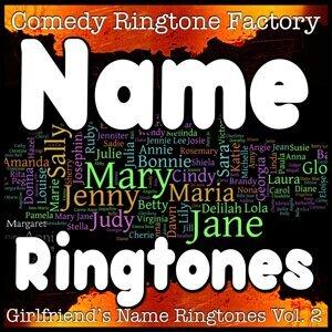 Female Names By Comedy Ringtone Factory 歌手頭像