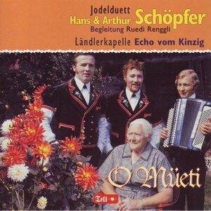 Jodelduett Hans & Arthur Schöpfer - Ländlerkapelle Echo vom Kinzig 歌手頭像
