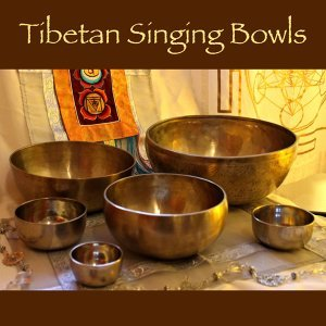 Tibetan Singing Bowls for Relaxation, Meditation and Chakra Balancing