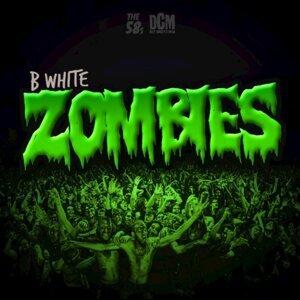 B. White