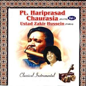 Pt. Hariprasad Chaurasia, Ustad Zakir Hussein 歌手頭像