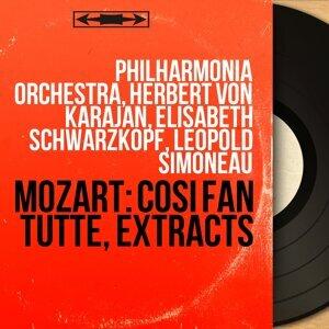 Philharmonia Orchestra, Herbert von Karajan, Elisabeth Schwarzkopf, Leopold Simoneau 歌手頭像