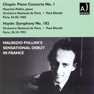 Orchestre National de Paris, Paul Kletzki, Maurizio Pollini 歌手頭像