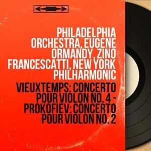Philadelphia Orchestra, Eugene Ormandy, Zino Francescatti, New York Philharmonic 歌手頭像