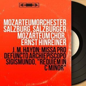 Mozarteumorchester Salzburg, Salzburger Mozarteum Chor, Ernst Hinreiner 歌手頭像