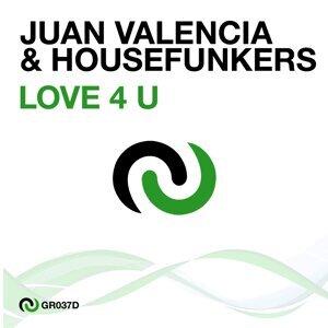 Juan Valencia, Housefunkers 歌手頭像