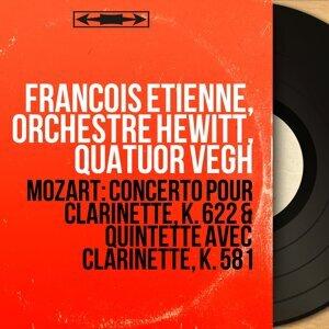 François Étienne, Orchestre Hewitt, Quatuor Végh 歌手頭像