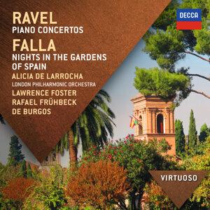 Lawrence Foster,London Philharmonic Orchestra,Alicia de Larrocha,Rafael Frühbeck de Burgos 歌手頭像