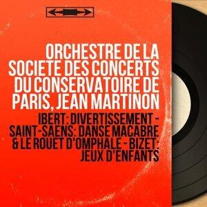 Orchestre de la Société des concerts du Conservatoire de Paris, Jean Martinon 歌手頭像