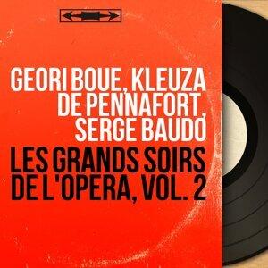 Géori Boué, Kleuza de Pennafort, Serge Baudo 歌手頭像