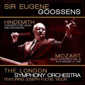 London Symphony Orchestra, Sir Eugene Goossens, Joseph Fuchs 歌手頭像