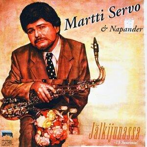 Martti Servo, Napander 歌手頭像