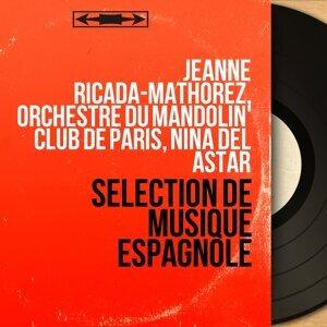 Jeanne Ricada-Mathorez, Orchestre du Mandolin' Club de Paris, Nina del Astar 歌手頭像