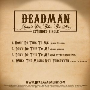 DEADMAN 歌手頭像