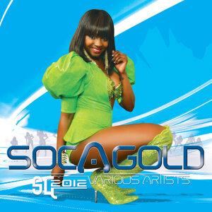 Soca Gold 2012 歌手頭像