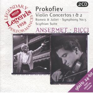 Ruggiero Ricci,L'Orchestre de la Suisse Romande,Ernest Ansermet 歌手頭像