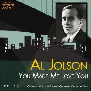 Al Jolson, Charles A. Prince Orchestra, Walter B. Rogers Orchestra 歌手頭像