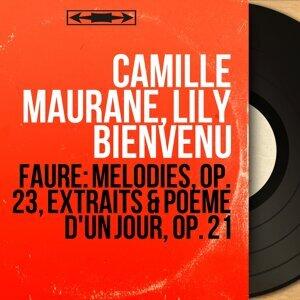 Camille Maurane, Lily Bienvenu 歌手頭像