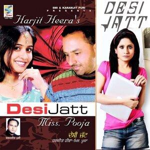 Miss Pooja, Harjit Heera 歌手頭像