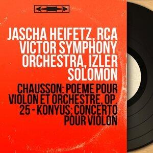 Jascha Heifetz, RCA Victor Symphony Orchestra, Izler Solomon 歌手頭像