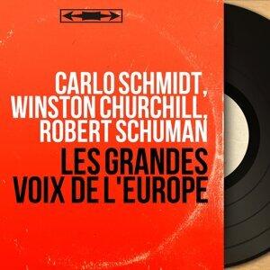 Carlo Schmidt, Winston Churchill, Robert Schuman 歌手頭像