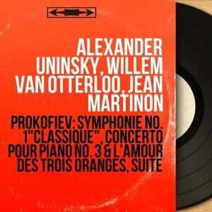 Alexander Uninsky, Willem van Otterloo, Jean Martinon 歌手頭像