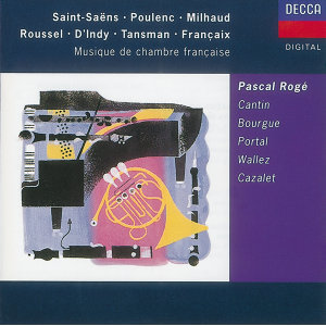Catherine Cantin,Pascal Rogé,Maurice Bourgue,Michel Portal 歌手頭像