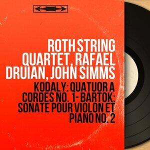 Roth String Quartet, Rafael Druian, John Simms 歌手頭像