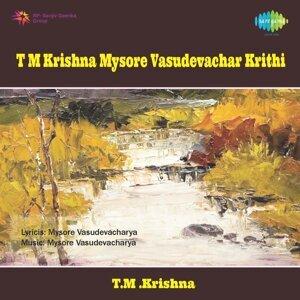 T.M .Krishna 歌手頭像