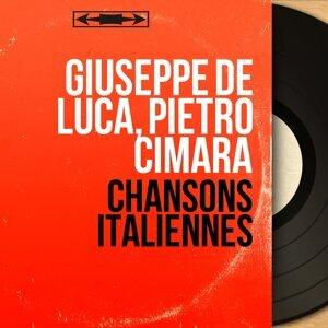 Giuseppe De Luca, Pietro Cimara 歌手頭像