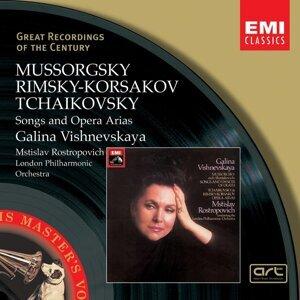 Galina Vishnevskaya/Mstislav Rostropovich/London Philharmonic Orchestra 歌手頭像