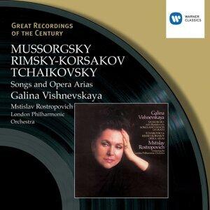 Galina Vishnevskaya/Mstislav Rostropovich/London Philharmonic Orchestra