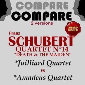 Juilliard Quartet, Amadeus Quartet 歌手頭像