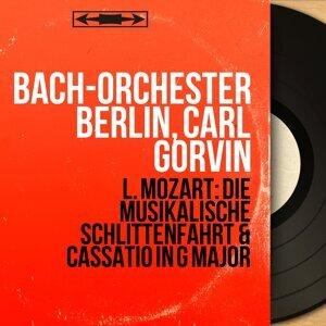 Bach-Orchester Berlin, Carl Gorvin 歌手頭像